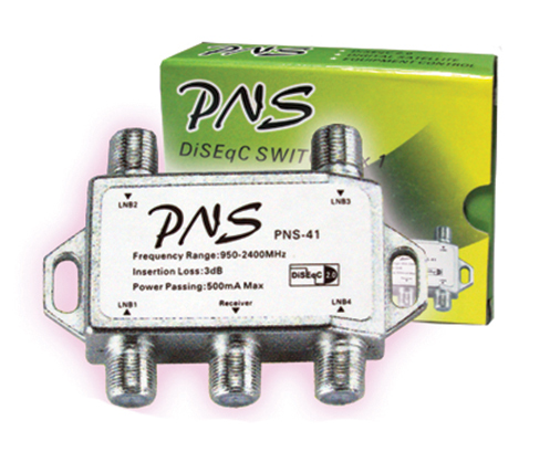 DiSEqC Switch 4x1 PNS �Ҥ� 60 �ҷ