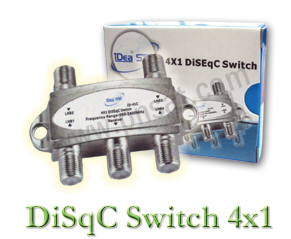 DiSEqC Switch 4x1 iDEA CHUN �Ҥ� 80 �ҷ