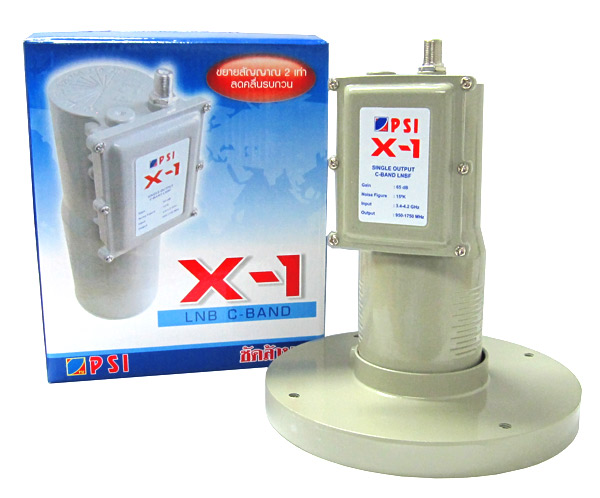 LNBF C-Band PSI X-1 �Ҥ� 350 �ҷ